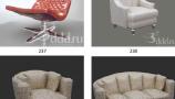 3DDD - Armchairs (3)