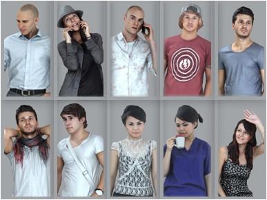 AXYZ Design - Ready Posed 3D Humans (1)