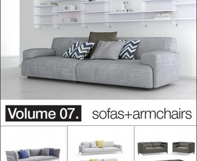 ModelPlusModel - Vol 07 Sofas Armchairs (6)