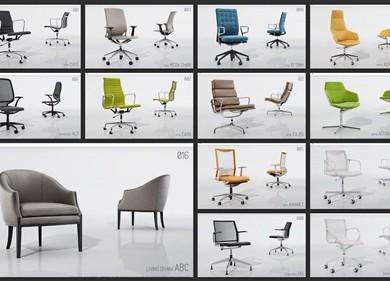 VizPeople - 3D Seating Furniture (6)