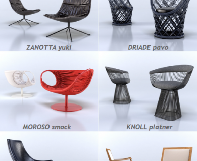 VizPeople - Armchairs (1)