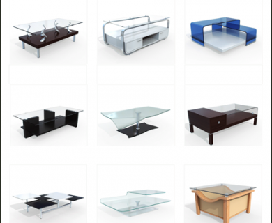 10Ravens - 3D Models Collection 004 Modern Tables 01 (1)