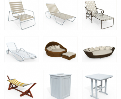 10Ravens - 3D Models Collection 014 Outdoor Furniture 02 (1)
