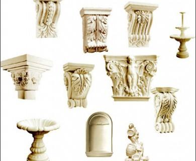 Decorative Gypsum 3D Models (1)