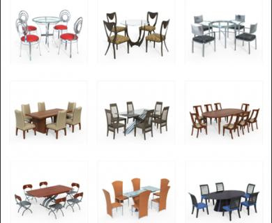 10Ravens - 3D Models Collection 024 Modern Dining Furniture 01 (1)
