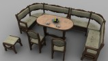 3DDD - Classic Kitchen Set (4)