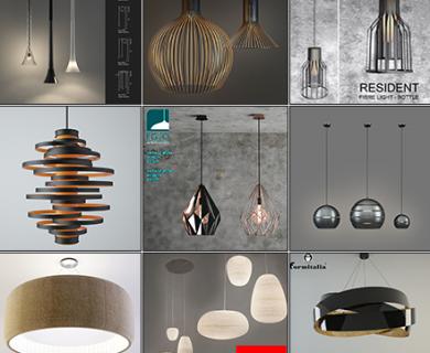 3DDD - Modern Ceiling Lamp (2)