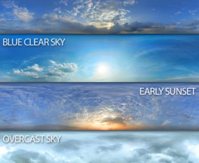 Exterior Seamless Skies Panoramas (1)