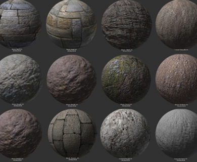 CGCookie - Blender Citizen Stone Texture Reference Pack (1)