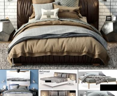 3DDD - Bed Set 2 (1)
