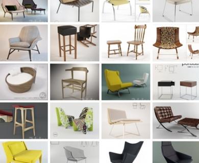 3DDD - Chair Set 2 (1)