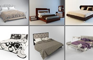 3DDD - Classic Bed (1)