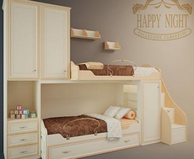 3DDD - Classic Childroom Bed (1)