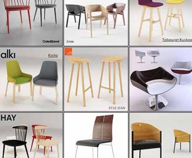 3DDD - Modern Chair Vol 1 (1)