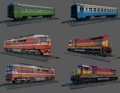 Vargov3d - 3D Models Train (1)