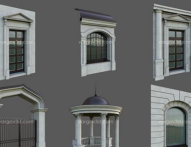 Vargov3d - Architectural Element (1)