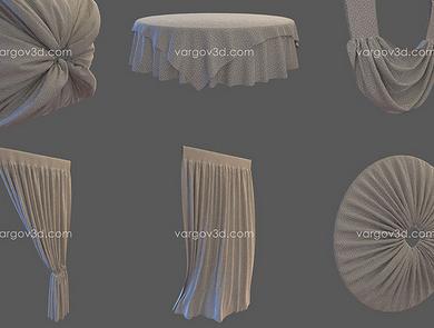 Vargov3d - Collection 3D Models Cloth (1)