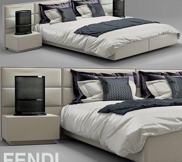Pro 3DSky - Bed Fendi Casa Urano (1)