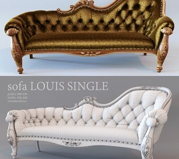 Pro 3DSky - Sofa Louis Single (1)