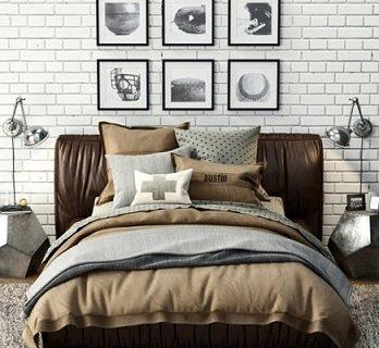 Pro 3DSky - Sona Upholstered Platform Bed (2)