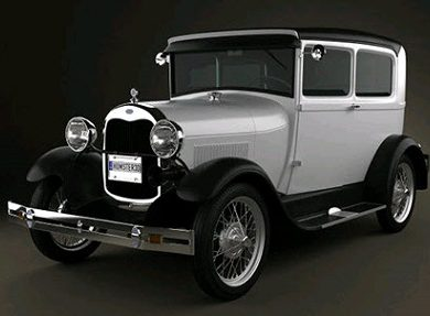 Humster3D - Ford Model A Tudor 1929 3D Model (2)