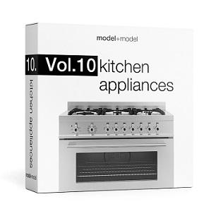 ModelPlusModel - Vol 10 Kitchen Appliances (1)