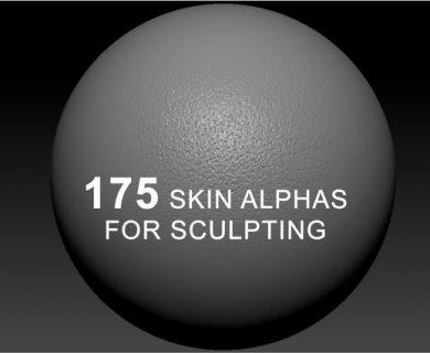 تکسچر آلفا پوست برای اسکالپتینگ