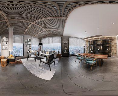 صحنه داخلی Living Room N08 از Interior Design 2019