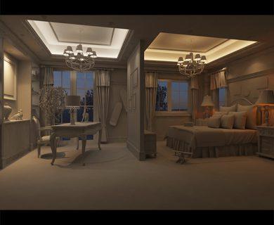 دانلود رایگان آموزش فارسی نورپردازی صحنه داخلی شماره 1 در 3DS Max و Vray ،قسمت اول