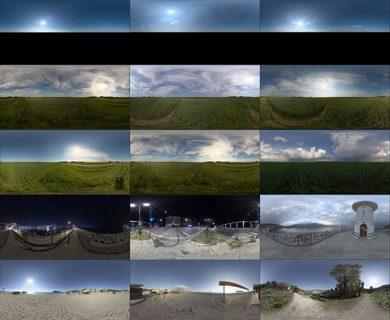 تصاویر HDRI فضای خارجی از شرکت Poliigon