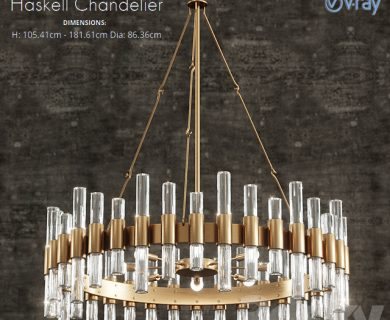 مدل سه بعدی چراغ